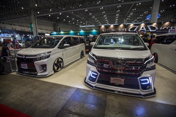 man nhan voi nhung xe hop doc dao tai tokyo auto salon 2017