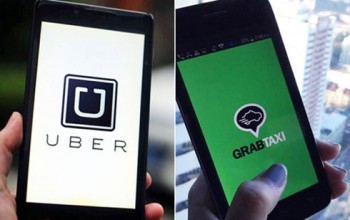 taxi uber va grab o viet nam khac gi nhau