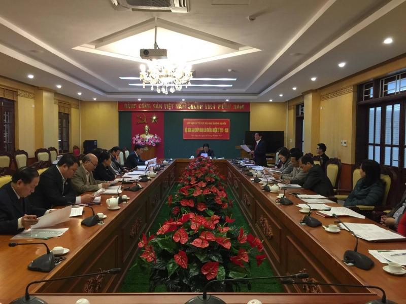 Hội nghị Ban chấp hành Liên hiệp các tổ chức hữu nghị tỉnh Thái Nguyên