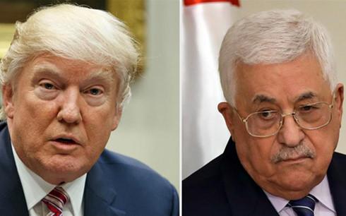 ong donald trump chinh thuc moi tong thong palestine toi nha trang