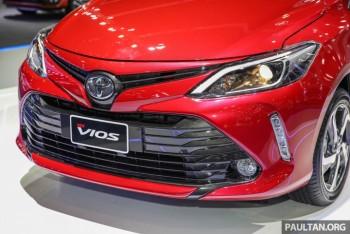 Toyota Vios tìm lại vị trí số 1
