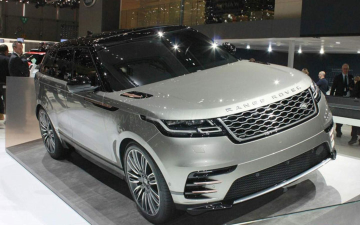 kham pha range rover velar 2017 duoc trung bay tai an do