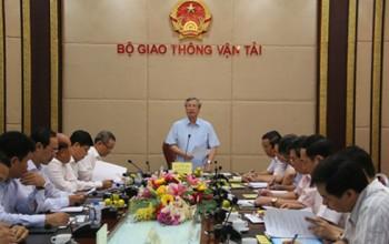 Đoàn công tác Bộ Chính trị kiểm tra quy hoạch cán bộ Bộ GTVT