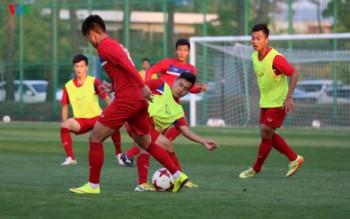 """U20 Việt Nam """"khổ luyện"""" tại nơi diễn ra World Cup"""