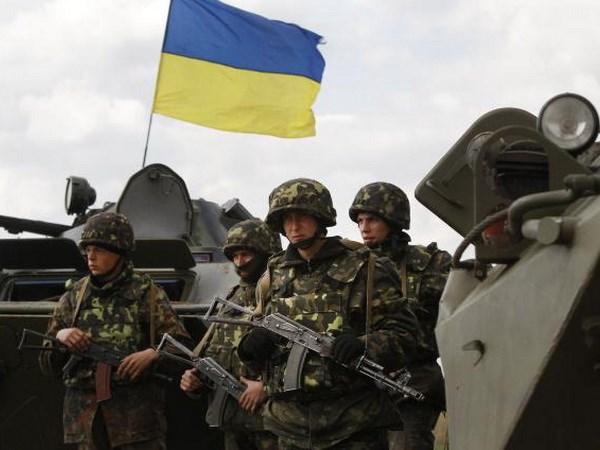 ukraine lenh ngung ban moi lai bi vi pham 2 binh sy thiet mang