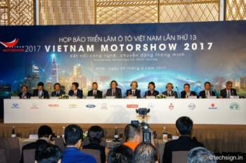 70 mau xe se duoc trung bay tai vietnam motor show 2017