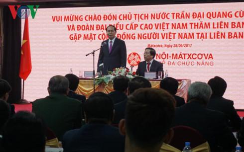chu tich nuoc tran dai quang gap go ba con cong dong viet nam tai nga
