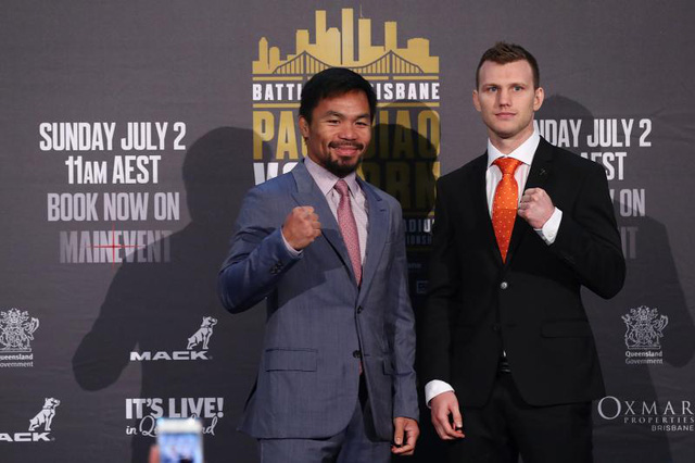 manny pacquiao dai chien jeff horn muon tai dau voi mayweather