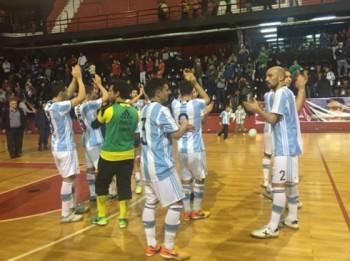 dt futsal viet nam thua argentina 1 3