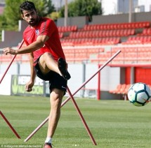 diego costa tro lai tap luyen cung atletico