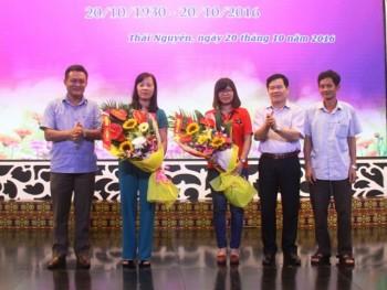 Đài PT-TH Thái Nguyên gặp mặt nữ cán bộ nhân kỷ niệm ngày 20.10