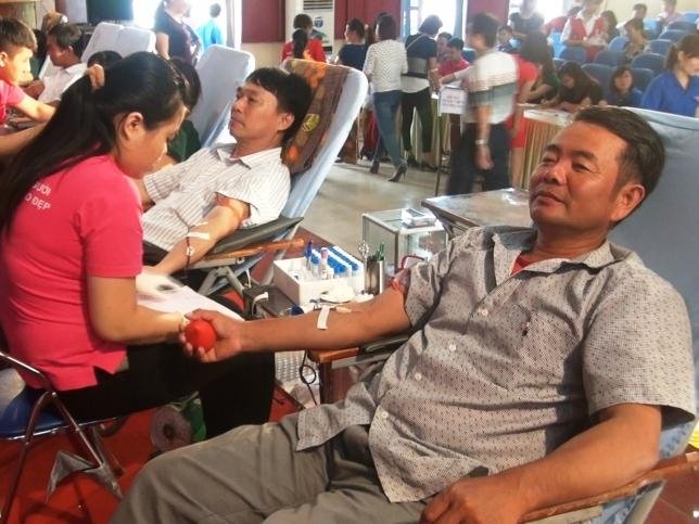 Huyện Phú Lương tổ chức chương trình hiến máu nhân đạo
