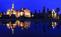 kham pha cong vien lich su sukhothai thai lan