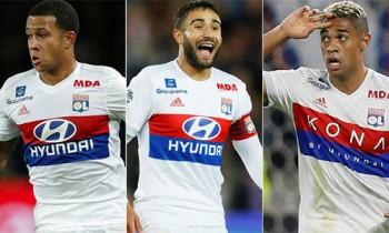 Lyon vượt Man City, PSG, sở hữu bộ ba tấn công hay nhất châu Âu