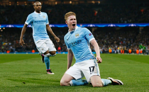 de bruyne man city khong the bat bai nhu arsenal