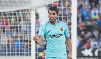 """Suarez lập cú đúp, Barca thắng """"ba sao"""" trước Leganes"""