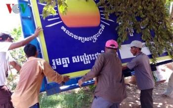 Campuchia thi hành bản án giải thể đảng Cứu Quốc