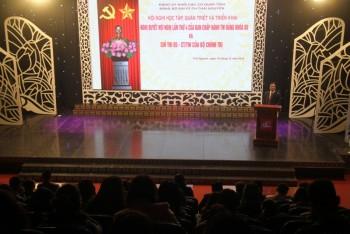 Hội nghị học tập, quán triệt và triển khai Nghị quyết lần thứ 4 BCH Trung ương Đảng khóa XII và Chỉ thị 05 của Bộ Chính trị