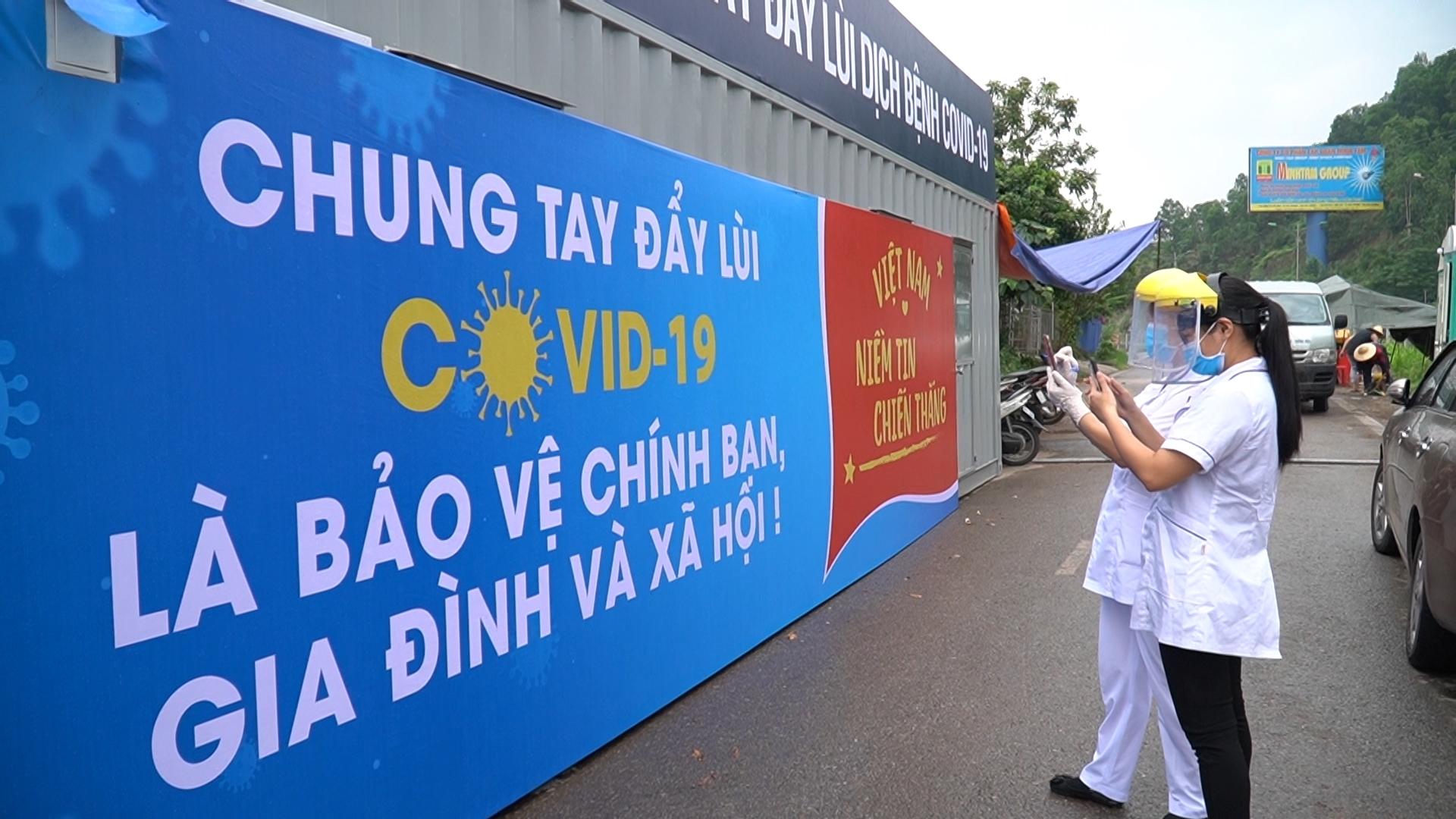 Thái Nguyên tằng cường tuyên truyền trực quan phòng, chống Covid-19
