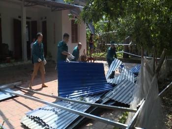 TP Thái Nguyên: Khắc phục thiệt hại do giông, lốc