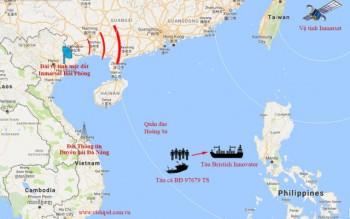 5 ngư dân Việt Nam được tàu Anh cứu sống trên biển