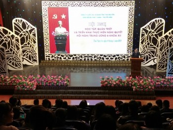 Các cơ quan báo chí của tỉnh quán triệt, triển khai thực hiện Nghị quyết Trung ương 6, khóa XII