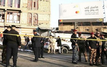 Đánh bom kép tại Iraq khiến 27 người chết