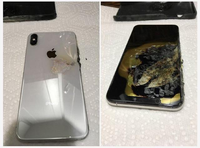 iphone xs max bat ngo phat no trong tui nguoi dung sau khi mua 1 thang