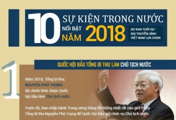 infographic 10 su kien trong nuoc noi bat nam 2018