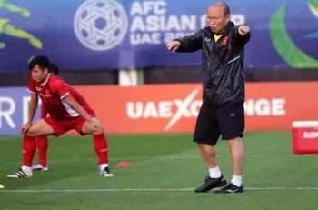 hlv park hang seo chinh thuc chot danh sach 23 cau thu du asian cup 2019