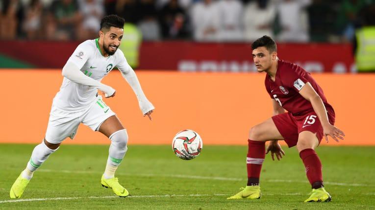 thua qatar saudi arabia gap nhat ban o vong 18 asian cup 2019