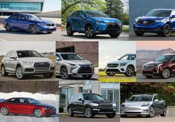 Top 10 xe sang và SUV bán chạy nhất Mỹ năm 2018