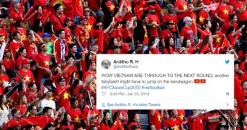CĐV châu Á kinh ngạc khi đội tuyển Việt Nam lọt vào tứ kết