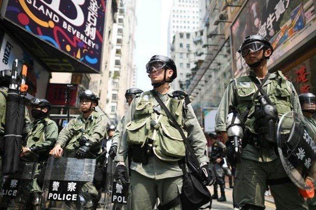 Trung Quốc chỉ trích sự can thiệp của nước ngoài vào Hong Kong