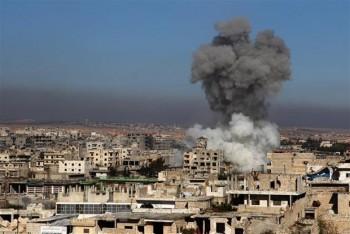 syria giao tranh ac liet tai tinh idlib khien gan 40 nguoi thiet mang