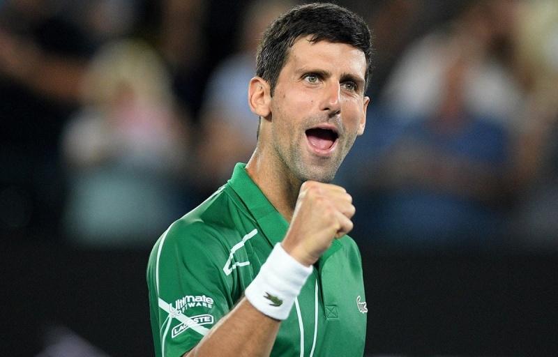 danh bai federer djokovic lan thu 8 vao chung ket australian open