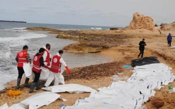 Phát hiện thi thể 74 người di cư trôi dạt trên biển