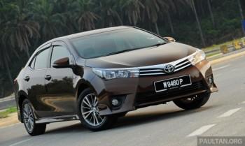 Túi khí không bung khi tai nạn, Toyota triệu hồi Corolla Altis