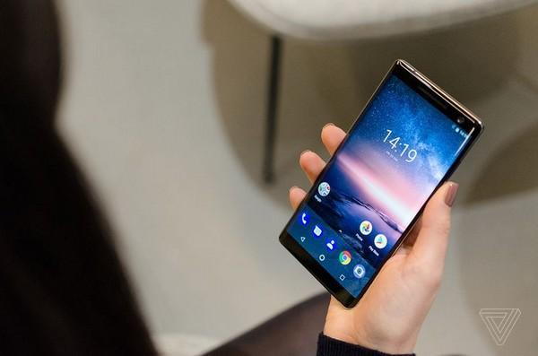 nokia trinh lang smartphone man hinh cong an tuong tai mwc 2018