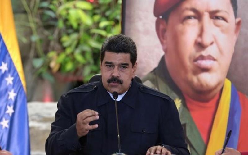 tong thong venezuela nicolas maduro tuyen bo tai tranh cu