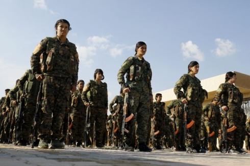 nguoi kurd phat dong tran danh cuoi cung chong khung bo is tai syria
