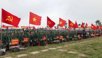 Những hình ảnh đẹp tại Lễ Giao nhận quân mùa xuân năm 2019
