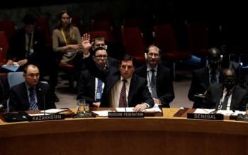 Nghị quyết trừng phạt Syria nhận 3 phiếu phủ quyết tại Hội đồng Bảo an
