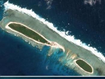 Trung Quốc lại xây công trình trái phép mới ở Biển Đông