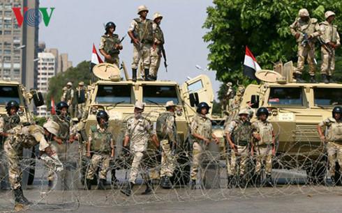 Ai Cập tăng cường an ninh ở Sinai
