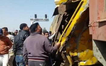 Tai nạn tàu hỏa thảm khốc tại Ai Cập, 56 người thương vong
