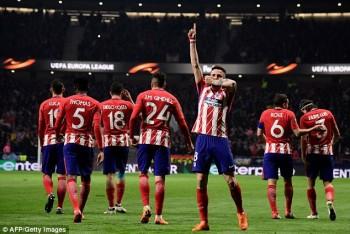 Ngôi sao Tây Ban Nha rực sáng, Atletico nuôi mộng vô địch Europa League