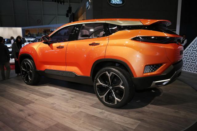 tata h5x concept phien ban an do cua range rover