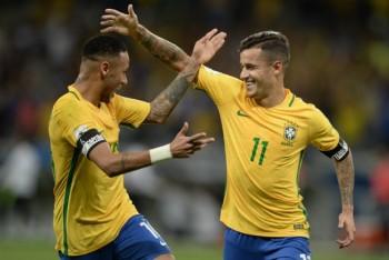 Coutinho chào đón Neymar trở lại Barcelona