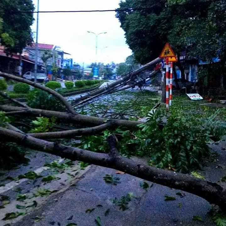 Gió lốc kèm mưa đá bất thường càn quét, tàn phá Sơn La, Bắc Kạn